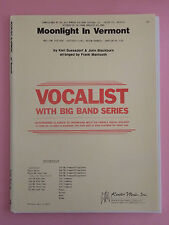 Moonlight in Vermont, arr. Frank Mantooth, Big Band + Assolo Vocal