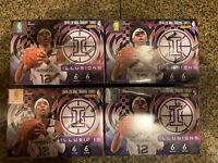 2019-20 Panini Illusions Basketball Blaster Box Lot Of Four (4) Sealed Boxes