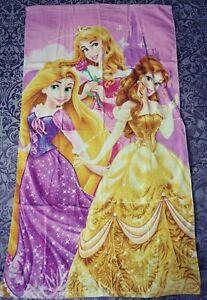 Disney Princess Girls  Aurora  Bella Aurora Rapunzel 70x140 100% Cotton