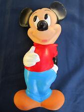 Jouet enfant Tirelire Mickey Walt Disney ILLICO ancien figurine ht 28,5 cm