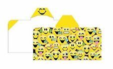 Emoji Hooded Cotton Kids Towel Bath, Beach, Pool