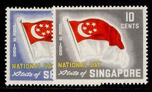 SINGAPORE QEII SG59-60, complete set, M MINT.