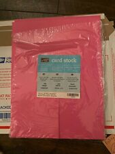 """STAMPIN UP! 8 ½"""" X 11"""" CARDSTOCK Paper Crafts 19 Sheets Pink Passion"""