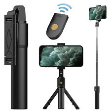 Extendable Selfie Stick Tripod With Wireless Remote Shutter For iPhone / Samsung