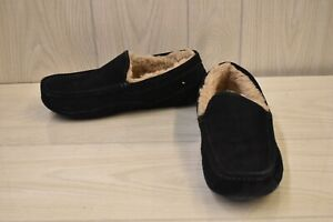 Ugg Ascot 1101110 Moccasin Slippers, Men's Size 10, Navy