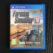 Farming Simulator 16 - Sony PS VITA - PAL FR - Avec notice