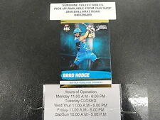 2016/17 CRICKET TAP N PLAY GOLD CARD NO.068 BRAD HODGE ADELAIDE STRIKERS