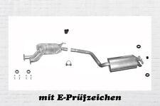 Mercedes 190 W201 2.0 2.3 Auspuffanlage Auspuff Endtopf Mitteltopf Montagesatz