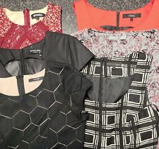 Lovely lot Bundle of Six Next, Office Girl Skater Dresses Size 8-10. Great cond.