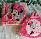 Set+Of+Two+Pink+Baby+Girl+Minnie+Mouse+Crunchy+Book+Toys
