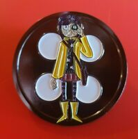 Coraline Pin Button XL Enamel Brooch Metal Badge Lapel Activism Support