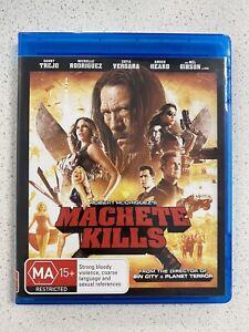 Machete Kills (Blu-ray, 2014) Cuba Gooding Jr., Mel Gibson, Antonio Banderas