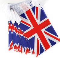 9m Union Jack Flags Bunting UK Flag Party Hanging England British VE Day