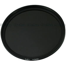 52mm 52 mm ND1000 Optical Slim Neutral Density ND 1000 Lens Filter for SLR DSLR