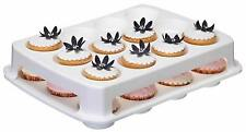 Sweetly Does It Two Tier 24 Cup Cake Carrier / Holder. with Cover