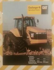 CAT CHALLENGER 45 AGRICULTURAL TRACTOR BROCHURE,  Full Color, 1995