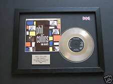 """PHIL COLLINS Two Hearts PLATINUM 7"""" Single Disc & cover presentation"""