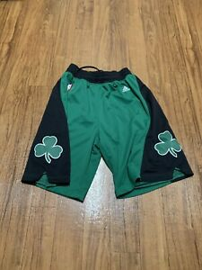 Authentic Celtics Adidas On Court Swingman Game Shorts Medium