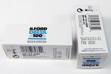 Lot de 2 films Ilford DELTA 100 ISO 120 , utilisable jusqu'à février 2020