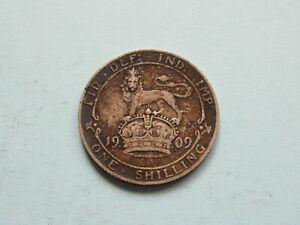 1909 Shilling High Grade Collectable Condition Coin Silver