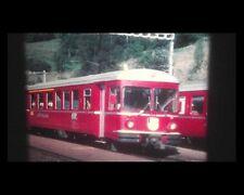 DVD Fahrt mit dem Glacierexpress u. Berninaexpress 1984 Super 8 Schweiz 16mm