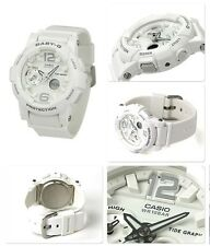 BGA-180-7B1 White Baby-G Casio Lady Watches Resin Band Digital Brand-New