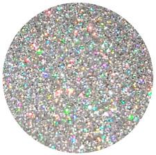 Glitter LASER SILVER hologram Silber multi Shine Regenbogen Effekt Deko Basteln