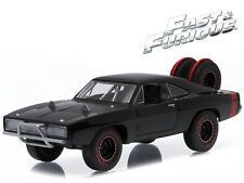 1/43 Greenlight Fast & Furious 7 Dom's 1970 Dodge Charger R/T Offroad 86232 BK