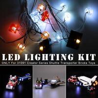 LED Light Lighting Kit ONLY For LEGO 31091 Creator Series Shuttle   π