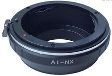 ANELLO ADATTATORE OBIETTIVO NIKON SAMSUNG NX FOTOCAMERA NX1 NX500 ADAPTER RING