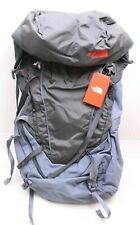 The North Face Terra 65 backpack mochila gris/negro/rojo talla L/XL nuevo