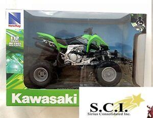 NEWRAY 1:12 DIECAST Scale Kawasaki KFX 450R ATV 57503