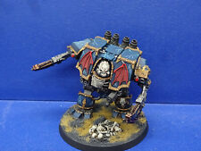 Forgeworld Night Lords Dreadnought der Chaos Space Marines TOP BEMALT