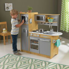 Kitchen Play Set Pretend Toy Game for Kids KidKraft Uptown 53298 Natural
