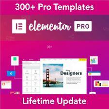 Elementor PRO WordPress Page Builder 300+ Pro Templates 90+ Widgets