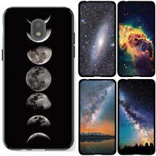 for Samsung Galaxy J3 2018 Star/Orbit/Amp Prime3(Black)TPU Phone Case Cover-D4