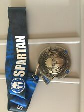 New 2020 Spartan Race Spartan Super Finishers Medal with Trifecta Wedge