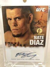 NATE DIAZ 2010 UFC TOPPS AUTO