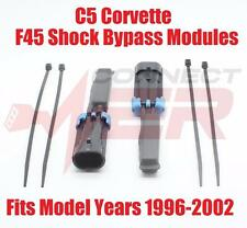 F45 Shock Absorber Bypass Modules (2) 1996-2002 Chevrolet Corvette C5