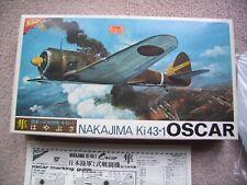 Nichimo 1:48 Nakajima Ki43-1 Oscar-Kit Completo En Caja Original