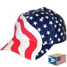 BASEBALL CAP USA US United States America American Flag ADJUSTABLE SPORTS HAT!