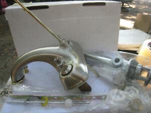 Price Pfister  45-BPXK Centerset Bath Faucet, 3-Hole, Brushed Ni & Brass W/Popup