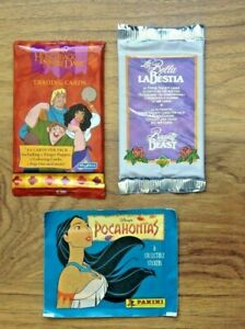 3 NEW SEALED  DISNEY POCAHONTAS , HUNCHBACK OF NOTRE DAME & BEAUTY & THE BEAST
