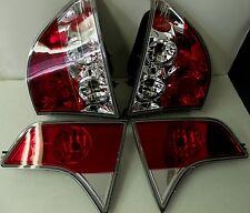 06-07 HONDA CIVIC 4DR/SEDAN.SET OF 4  TAIL LIGHTS RED & CLEAR LENS