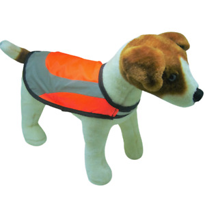 Jack Russell Hi Vis Dog Vest Coat Jacket Water Resistant Safety Reflective Small