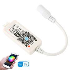 Wifi LED Controller&Remote For 5050 3528 RGB/RGBW LED Strip Light Alexa IFTTT