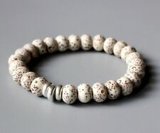 Natural Stone Buddha Prayer Tibetan Mala Beads Bodhi Seeds Bracelet Men Ladies