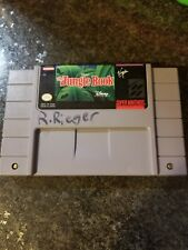 THE JUNGLE BOOK Super Nintendo SNES Game *Tested and works*