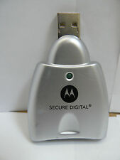 USB SD Card Reader Supports up to 2GB Memory Card Motorola SYN1114C