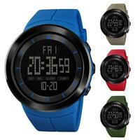 Herren Digital Outdoor Sports Armbanduhr Wasserdicht Military Watch